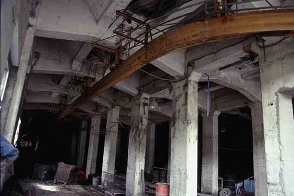 選炭施設の内部